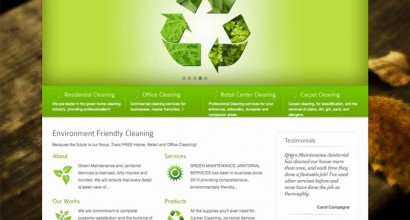 Green Maintenance Janitorial Services